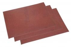 Schleifpapier 3 Bögen ca.11,5x16,5cm mit einer 120er Körnung (fein)