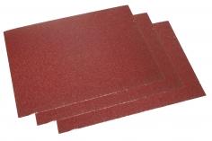 Schleifpapier 3 Bögen ca.11,5x16,5cm mit einer 60er Körnung (grob)