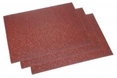 Schleifpapier 3 Bögen ca.11,5x16,5cm mit einer 40er Körnung (grob)