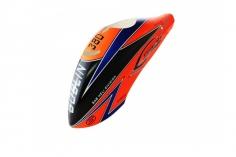 Kabinenhaube in orange für Gobln 380 Sport