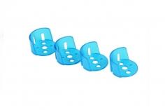 GoFly Ersatz Motor Schützer 4 Stück in blau für CP90Pro