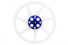 Rakonheli Hauptzahnrad Delrin 140 Zähne 4,6mm hoch mit Alu Nabe in blau für Blade 230 S und 230 S V2