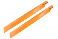 Rakonheli Hauptrotorblätter 240mm orange für Blade 230 S und 230 S V2