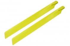 Rakonheli Hauptrotorblätter 240mm gelb für Blade 230 S und 230 S V2