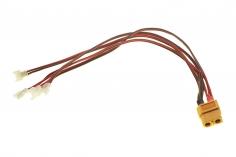 4-Fach Ladekabel PARALELL mit Walkera Anschluss für 1S LIPO Akkus für ISDT Ladegeräte