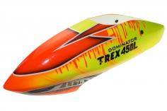 Fusuno Drip Airbrushed fiberglass Haube für T-REX 450L Dominator