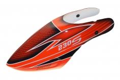 Fusuno Red Shadow Design Airbrush fiberglas Haube für Blade 230S