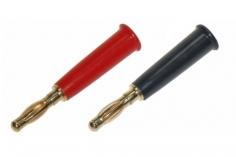 Bananenstecker Paar rot und schwarz 4mm