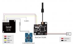 RunCam Racer Kamera im carbon Design 700 TVL