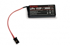 Graupner Senderakku LiPo 1s 3000mAh 3,7Volt für MZ-12