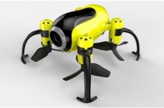 UDI RC Piglet WiFi Mini Drone gelb schwarz