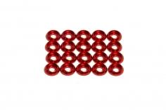 OXY Ersatzteil Unterlegscheiben M1,6 in rot für OXY 4 20 Stück
