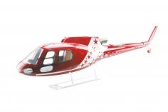 600er Scale Rumpf AS 350 Ecureuil Air Zermatt Design