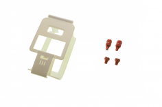 FrSky Taranis X-LITE Brace lite Upgrade Set, Knüppelgriffe in rot
