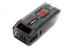 Spektrum Empfänger AR410 Sport Telemetrieempfänger mit voller Reichweite und Bindeknopf