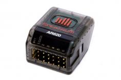 Spektrum Empfänger AR620 Sport Telemetrieempfänger mit voller Reichweite und Bindeknopf