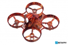 BetaFPV Rahmen Set mit Canopy Haube und Propellern für Beta 65S im Flame Design
