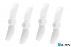 BetaFPV 2 Blatt Propeller 31mm für 0,8mm Welle in weiß
