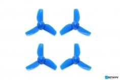 BetaFPV 3 Blatt Propeller 31mm für 0,8mm Welle in blau