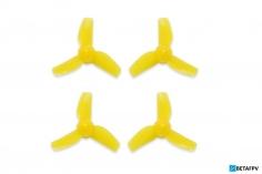 BetaFPV 3 Blatt Propeller 31mm für 0,8mm Welle in gelb