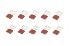 GoFly Motor Kabelhalter / Clip 12 Stück in transparent