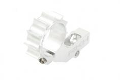 Rakonheli CNC 7mm Heckmotorhalterung silber für Blade mCPX V2 Nano CPX
