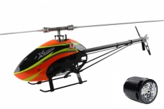 XLPower Specter 700 Kit mit Rotorblättern und mit Egodrift Tengu Motor 4530HS mit 510KV