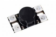 WS2812 LED Board (voll Programmierbar) mit ultra lautem Buzzer mit 110dB
