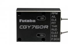 FUTABA CGY760R 3-Achs Gyro mit Empfänger und Governor (ohne Programmierbox)
