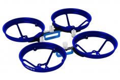 Rakonheli Tuning Rahmen aus carbon in blau für Blade Inductrix FPV Brushless
