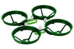 Rakonheli Tuning Rahmen aus carbon in grün für Blade Inductrix FPV Brushless