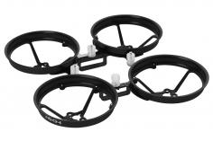 Rakonheli Tuning Rahmen aus carbon in schwarz für Blade Inductrix FPV Brushless