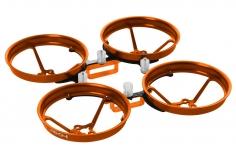 Rakonheli Tuning Rahmen aus carbon in orange für Blade Inductrix FPV Brushless