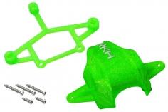 Rakonheli Haube und Kamerahalterung mit 20° Neigungswinkel in grün für Blade Inductrix FPV Brushless