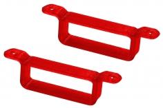 Rakonheli Akku Halterung 17 x 6.5 mm in rot für Rakonheli Rahmen für Blade Inductrix FPV Brushelss