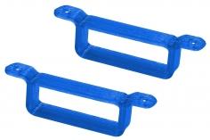 Rakonheli Akku Halterung 17 x 6.5 mm in blau für Rakonheli Rahmen für Blade Inductrix FPV Brushelss
