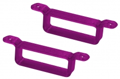 Rakonheli Akku Halterung 17 x 6.5 mm in violet für Rakonheli Rahmen für Blade Inductrix FPV Brushelss