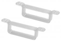 Rakonheli Akku Halterung 17 x 6.5 mm in weiß für Rakonheli Rahmen für Blade Inductrix FPV Brushelss