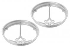 Rakonheli Propellerschützer aus Alu in silber 40mm für Rakonheli Tunning Rahmen für den Blade Inductrix FPV Brushless