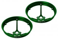 Rakonheli Propellerschützer aus Alu in grün 40mm für Rakonheli Tunning Rahmen für den Blade Inductrix FPV Brushless