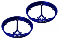 Rakonheli Propellerschützer aus Alu in blau 40mm für Rakonheli Tunning Rahmen für den Blade Inductrix FPV Brushless
