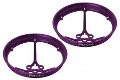 Rakonheli Propellerschützer aus Alu in violet 40mm für Rakonheli Tunning Rahmen für den Blade Inductrix FPV Brushless