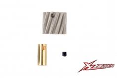 XLPower Ersatzteil schrägverzahntes Motorritzel 13 Zähne für XLPower 520 und 550