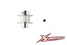 XLPower Ersatzteil Heckriemenscheibe 13 Zähne für XLPower 520 und 550