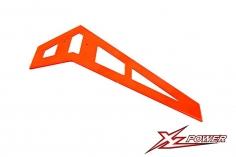XLPower Ersatzteil vertikale Heckfinne in orange für XLPower 520 und 550