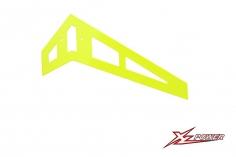 XLPower Ersatzteil vertikale Heckfinne in gelb für XLPower 520 und 550