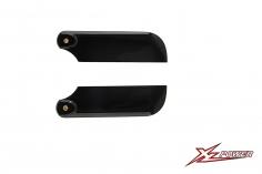 XLPower Ersatzteil carbon Heckrotorblätter 80mm für XLPower 520