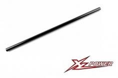 XLPower Ersatzteil Heckrohr in schwarz für XLPower 550