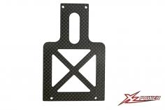 XLPower Ersatzteil CFK Chassisplatte hitnen für XLPower 700