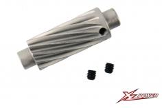 XLPower Ersatzteil schrägverzahntes Motorritzel 12 Zähne für XLPower 700